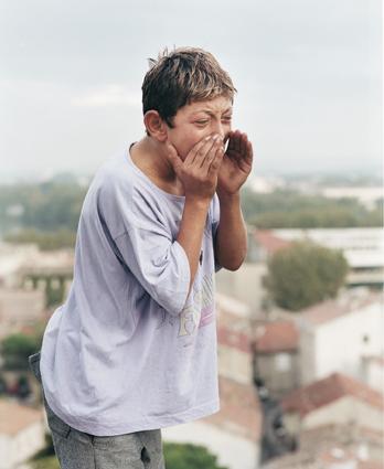 """Jonathan, Avignon 2001 série """"The Shouters"""", 2001-2004 Mathieu Pernot"""