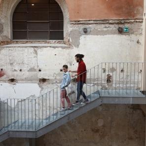 Fotografia Europea, Reggio Emilia, Italy, May 2014: the old Synagog housed the work of emerging Italian talents Massimiliano Tomasso Rezza and Silivia Compresi.