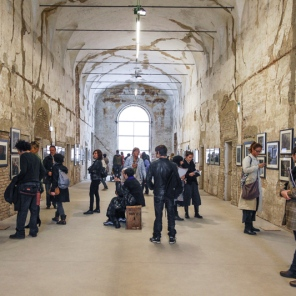 Fotografia Europea, Reggio Emilia, Italy, May 2014: Two exhibits by well known French photographer Sarah Moon were a highlight of the festival.